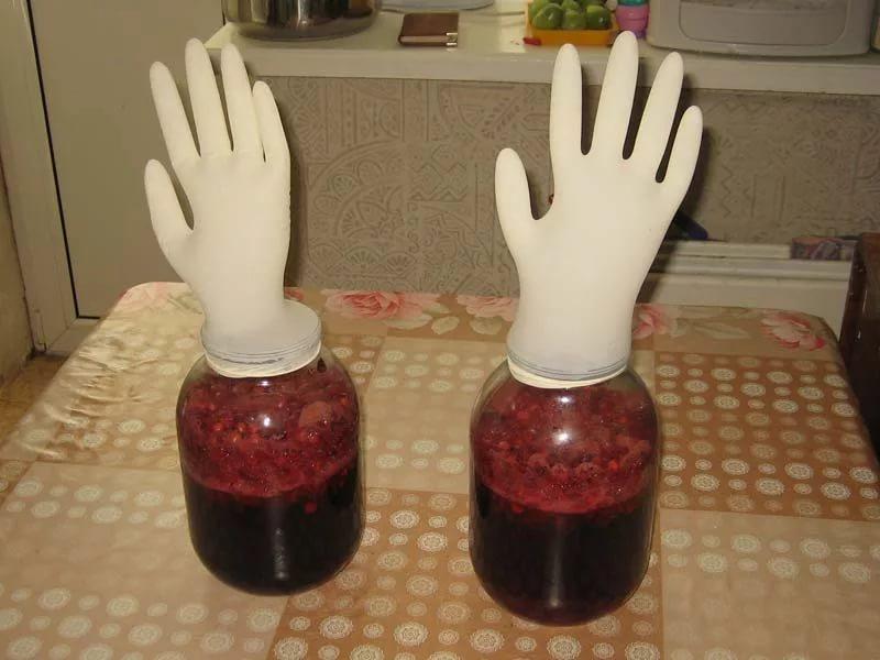 Гидрозатвор перчатка