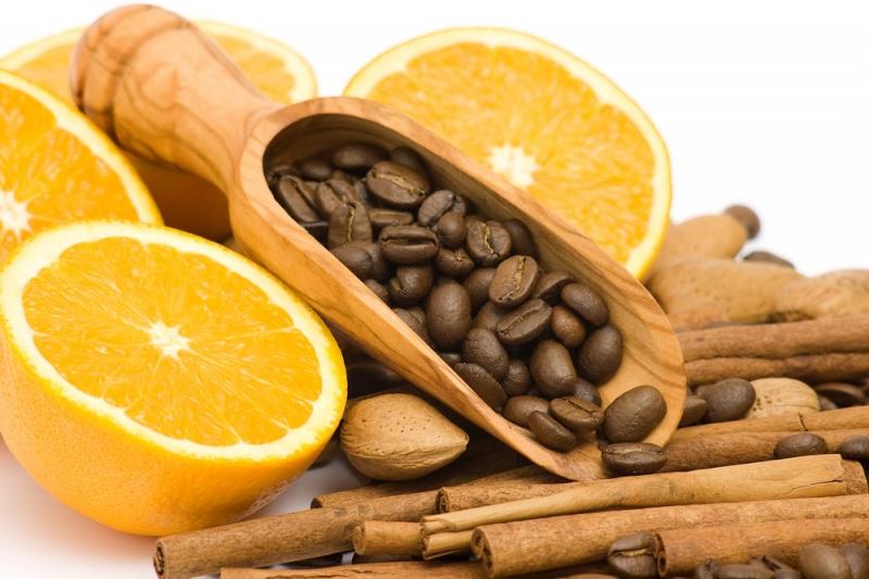 Настойка на апельсиновой цедре и кофейных зернах